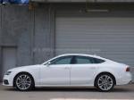 S7的Sportback造型就是掀背轿跑车,相比S6它的形象更有跑车气息。