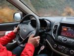瑞虎5的转向出人意料地很有路感,这在这级别的SUV中比较少见。