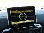突出中控台的中控屏幕是奔驰新一代车型的共同设计。