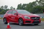 车身基本上是A级车的基础,套上运动风格的包围和轮胎。