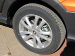 作为一大卖点,风光360的后轮使用了这个级别中非常罕见的盘式刹车,值得称赞!
