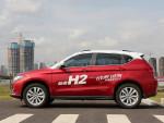 例如试驾车的这种红白色车身,就是可以选装的。