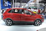 绅宝X25车身尺寸和哈弗H1大致相若,定位小型SUV。