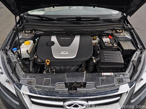 奇瑞艾瑞泽7 发动机与变速箱高清图片