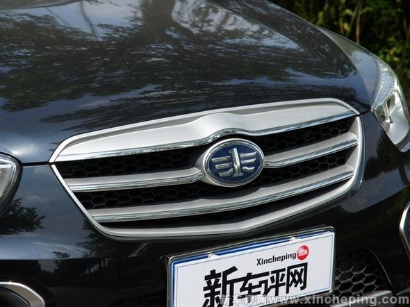 中国消费者喜欢的设计元素.   4.一汽奔腾x80 - 外形细节  高清图片
