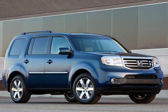 指丰田汉兰达 本田将国产7座SUV高清图片