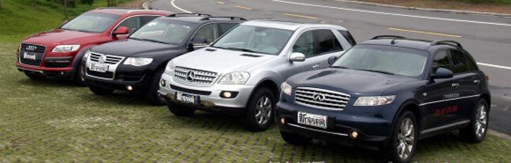 四款豪华SUV实地对比评测