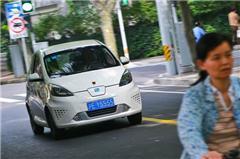 荣威E50纯电动车