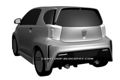 丰田iq运动版专利图曝光 将搭载1.8l发动机高清图片