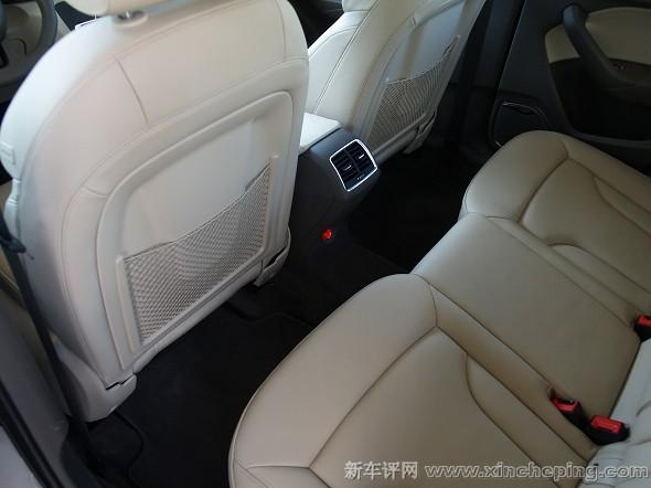 奥迪Q3 40TFSI评测 后排座椅和空间 新车评网xincheping.com高清图片