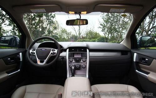 动力方面,福特锐界搭载3.5升V6 Ti-VCT发动机和SelectShift 6速自动高清图片