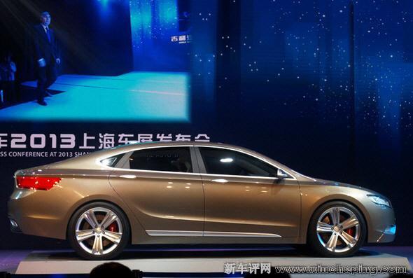 吉利kc2-快背式豪华轿车 全新帝豪KC概念车正式发布