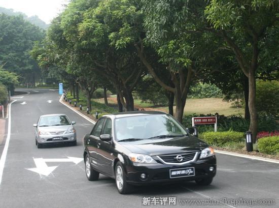 海马09款福美来登陆华南 广州媒体先期试驾高清图片