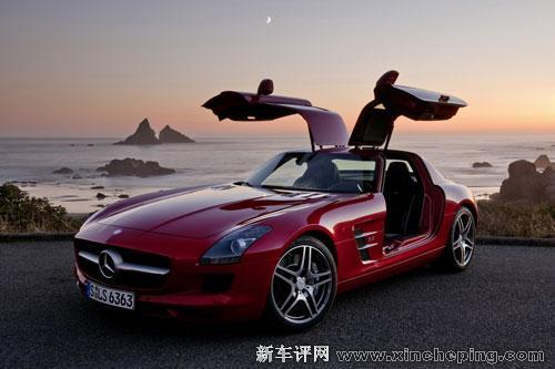 【奔驰SLS AMG超级跑车】-超豪华阵容无懈可击 奔驰将极致闪耀北京高清图片