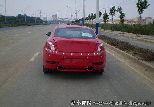 奇瑞双门轿跑A6CC定名瑞麒Z5 将在广州车展亮相高清图片