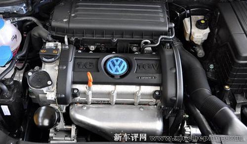 宝来即将换装ea111系列1.6l发动机图片