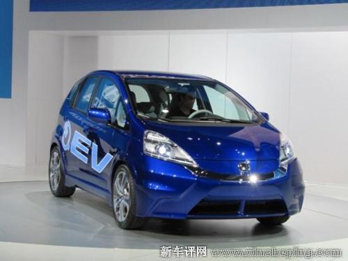 本田飞度电动概念车洛杉矶首发 将于2012年上市高清图片