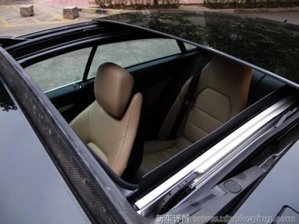 奔驰e260 coupe - 全景天窗图片