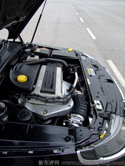 萨博95 2.3t发动机和变速箱怎么样 萨博9 5评测 新车评网高清图片