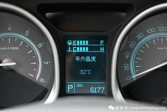 广汽传祺GS5长测(11)发现:称职的油表