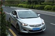 北京现代朗动1.8两个月小长测启动!