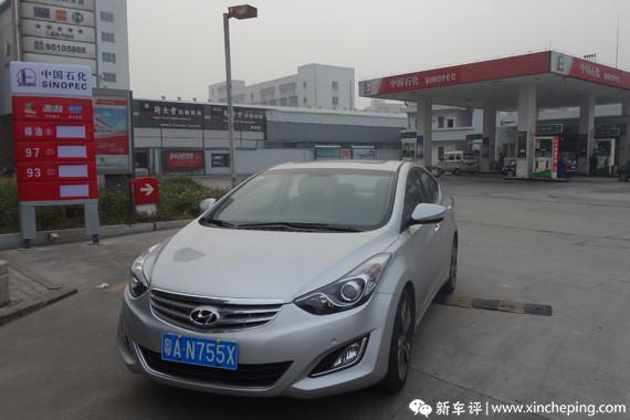 北京现代朗动长测(14)小结:长测油耗汇总