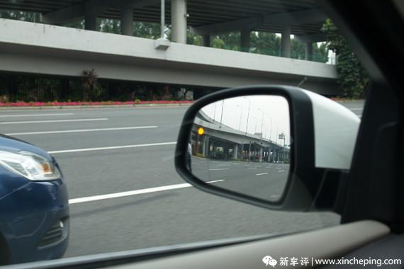长安福特新福克斯长测(4):前卫科技带来的便利