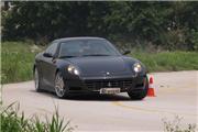 试车场试驾法拉利612 比911 Carrera S快0.9秒