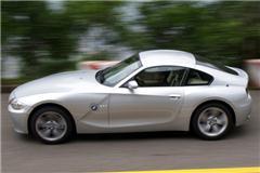 山路激烈驾驶宝马Z4 Coupe