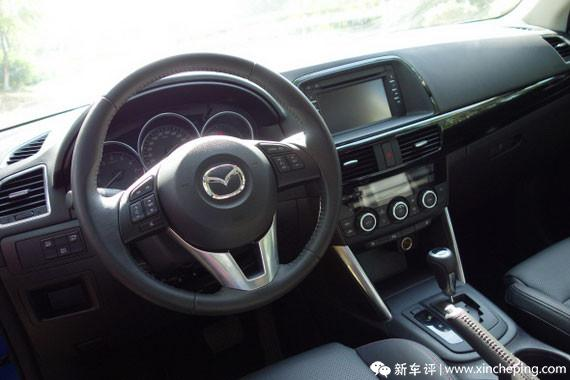 "CX-5长测(7)""实而不华""的车厢是好是差?"