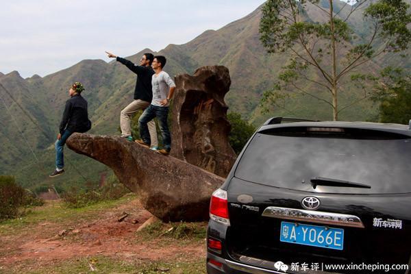汉兰达边境行(11)图赏:穿行两省 美景在路上