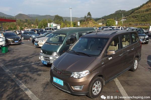 宏光S长测(30)挑战装载极限—宏光S春节用车日记