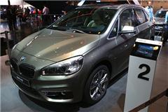 2014北京车展现场点评:宝马2系Active Tourer