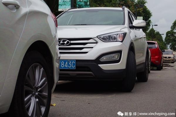新胜达长测(29):停车方向不正?车子会告诉你!