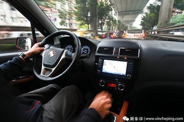 景逸X5长测(24)重新找回开SUV的愉悦感