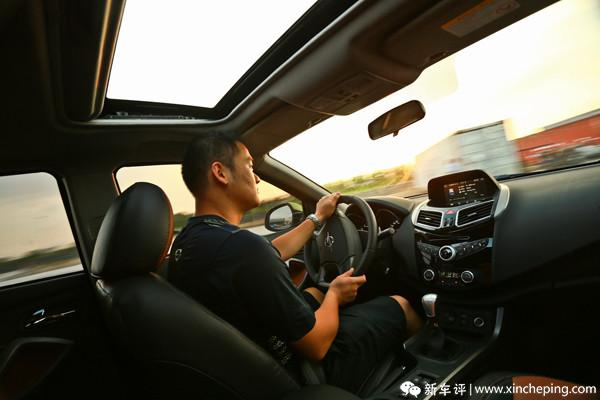 海马S5长测(2)多重天气考验驾驶视野