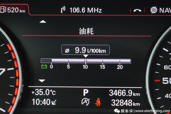 奥迪A6L长测(33)平均油耗出炉:11.09L/100km