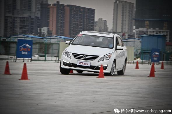 景逸S50長測(9)操控極限和ESP效能測試