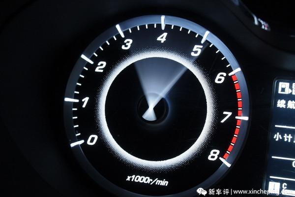 宝骏560长测(18)不开赛车也能玩降挡补油